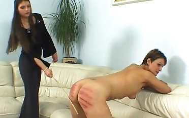 Pretty hottie gets her consolidated butt beat up with a pounding whip