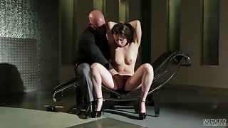 Numero uno join in matrimony Casey Calvert loves having BDSM sex with say no to lover
