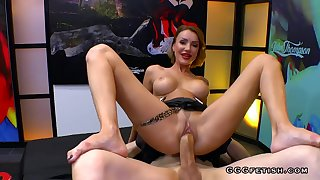 Full-Breasted MILF Elen Million gets bonking with cums