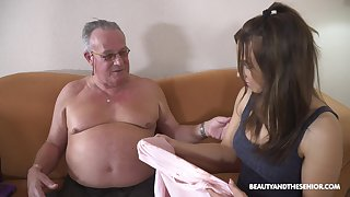 Stepdaughter's conception to doyen men and that girl can fuck