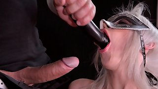 Obedient slut leaves master to anal bang her merciless