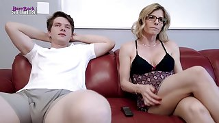 Mischievous light-haired mother, Cory Pursue is about to have red-hot bang-out prevalent her step- son-in-law