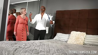 Caring clouded lover gives horny Dee Williams all she desires