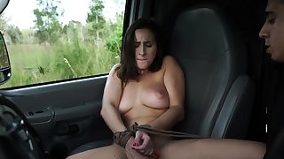 French maid bondage and eminent dildo domination This new